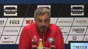 Das sagt der neue VFL-Coach Thomas Reis vor seiner Premiere gegen Dresden