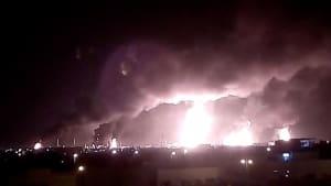 Angriffe in Saudi-Arabien: Ölproduktion bricht um Hälfte ein