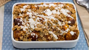 Hearty Fall: Maple Pumpkin Bread Pudding