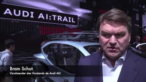 Audi auf der IAA Frankfurt 2019 - Bram Schot