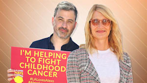 Celebrities helping fight childhood cancer