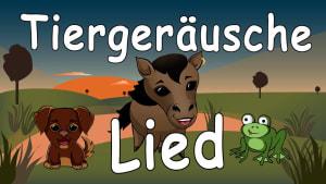 Tiergeräusche für Kleinkinder - Kinderlieder zum Mitsingen - Tierlaute lernen und singen