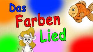 Farben lernen für kleinkinder deutsch - Das Farbenlied - lerne die Farben kennen - german color song