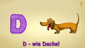 "Letter D Song German - Das D-Lied - ABC Lied: Der Buchstabe D ""The letter D Song"""