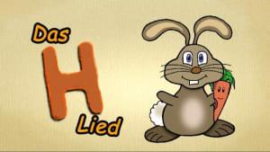 """Buchstaben lernen deutsch - DAS H-LIED - ABC Lied: Der Buchstabe H """"The letter H Song"""" German"""