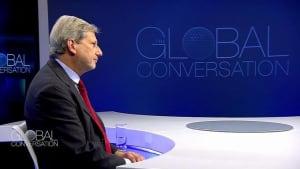 "EU-Kommissar Johannes Hahn: ""Europa ist bunt"""