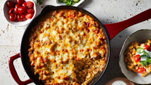 Taco mac and cheese is perfect for back-to-school