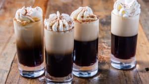 Tiramisu shots taste like the dessert