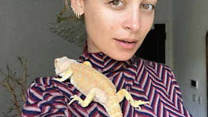 Nicole Richie explains her Instagram pics