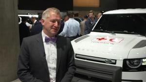 Jaguar Land Rover auf der 2019 IAA - Felix Bräutigam, Vorstand Vertrieb und Marketing bei Jaguar und Land Rover