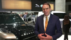 Jaguar Land Rover auf der IAA 2019 - Hanno Kirner, Geschäftsführer, Corporate & Strategy, Jaguar Land Rover