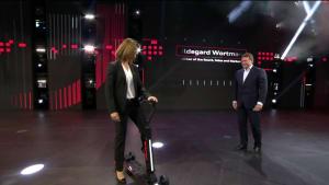 Audi e-tron Scooter Premiere auf der 2019 IAA