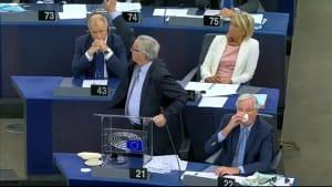 Brexit provoziert Schrei-Gefechte im Europäischen Parlament