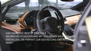 Der Lamborghini Sián - Das Interieur-Design