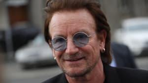 U2-Star Bono: Mit Straßenkunst gegen AIDS