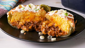 Tamale pie stuffed peppers