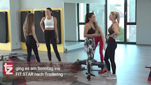 Auserwählte tz-Wiesn-Madl-Anwärterinnen beim FIT STAR Shooting in Trudering