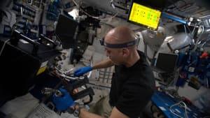 Die richtige Ernährung: ISS-Crew experimentiert im Weltall