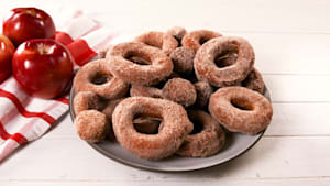 You must try apple cider donuts