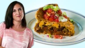 How to Make Taco Pie