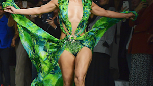 J. Lo slayed in her iconic green dress