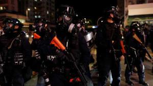 Tränengas und Steine bei erneuten Protesten in Hongkong