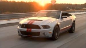 Der GT 500 steht in der stolzen Tradition faszinierender Shelby-Modelle