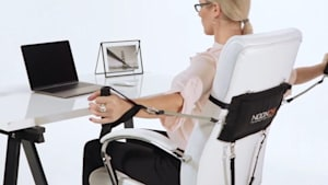 You can now turn your office chair into your own personal gym