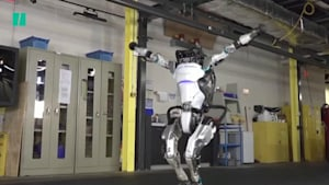 Robot nails gymnastics routine