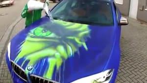 Check out this 'Hulk' paint job