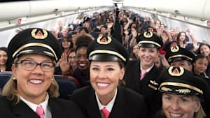 Delta inspires girls to pursue aviation careers