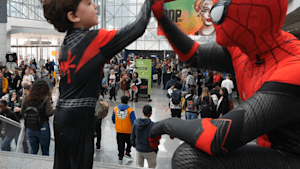 Check out the costumes at New York Comic Con