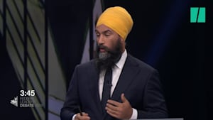 Awkward Exchange Ensues After Trudeau Mixes Up Singh For Scheer