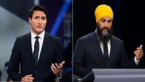 Trudeau Challenges Jagmeet Singh Over Quebec Secularism Law