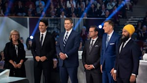 Watch The Full 2019 English Federal Leaders' Debate