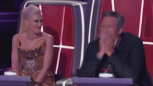Gwen Stefani clashes with Blake Shelton