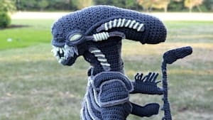 Mom crochets the most epic Halloween costumes