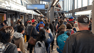 Broken LRT Door Causes Commuter Chaos In Ottawa
