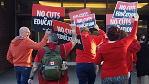 "Ontario Education Workers Are Leading A ""Walk-in"" Protest"