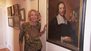 Woman reunites with stolen painting