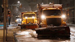 Manitoba Snow Storm Leaves Thousands Without Power