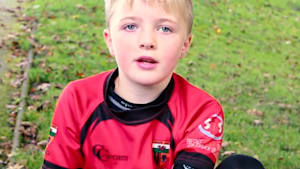He's a rugby star despite being born with one arm