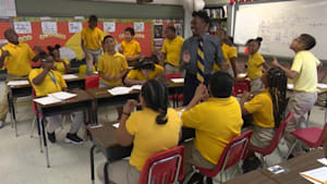 Students school rap their way through class