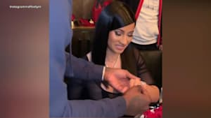 Cardi B gets Titanic ring for her 27th birthday