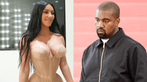 Kanye and Kim fight about her being 'too sexy'
