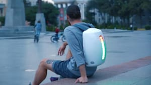 Futuristic backpack comes with awesome features