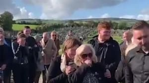 Man plays prank on his family at his own funeral