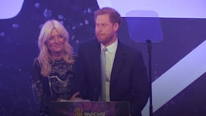 Prince Harry becomes emotional at WellChild Awards
