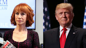 Kathy Griffin is afraid following fake Trump video