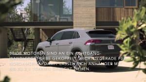 Der Volkswagen Atlas Cross Sport - Ideale Zugmaschine